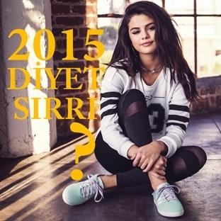 Selena Gomez'in 2015'TE 4 TANE Diyet Sırrı