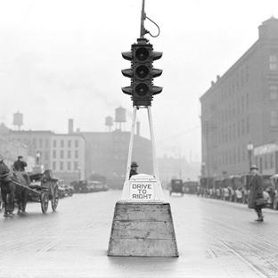 Tarihteki İlk Trafik Lambası