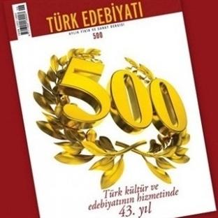 Türk Edebiyatı Dergisi 500. Sayısını Yayımladı