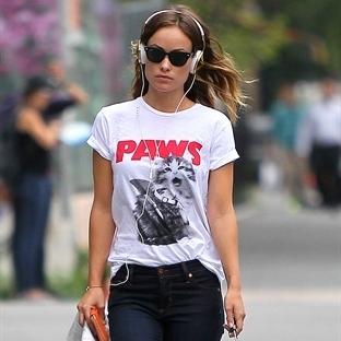 Ünlülerin tercihi tshirtler yazın trendlerinden