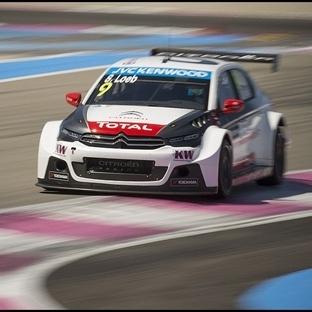 WTCC: Fransa'da Kazanan Citroenler Loeb & Lopez