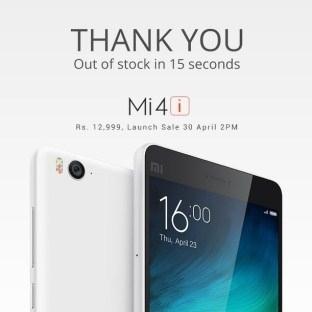 Xiaomi Mi4i 238 Dolar'a Dünya Genelinde Satışta