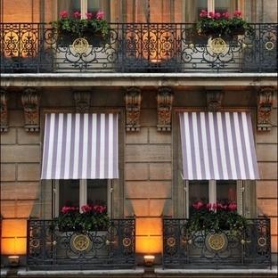 Zarif Fransız Balkon Kullanımları