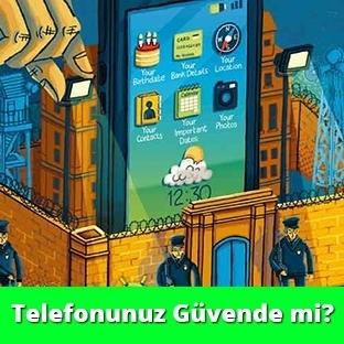 Akkıllı Telefon için Güvenlik Önlemleri
