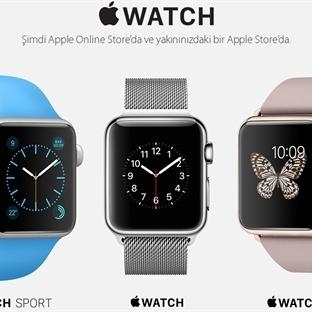 Apple Watch Türkiye'de Resmen Satışta