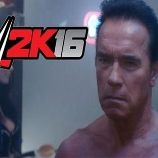 Arnold Schwarzenegger, WWE Kadrosunda