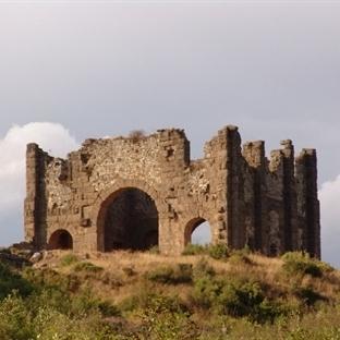 Aspendos'da Balayı
