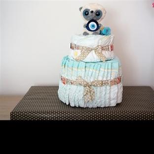 Bebek Bezi Pasta Yapımı