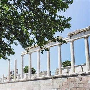 Bergama Akropolü ve Zeus Altarı..