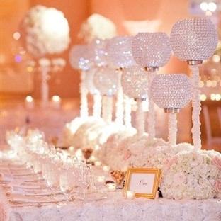 Birbirinden Gösterişli 10 Düğün Masası
