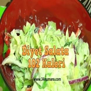 Diyet yapanlar için salata tarifleri