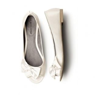 Düz gelin ayakkabıları