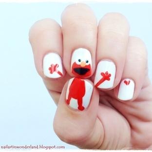 Elmo Nail Art Nasıl Yapılır?