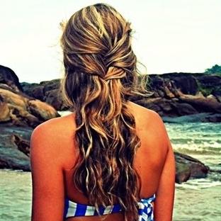En güzel plaj saç modelleri