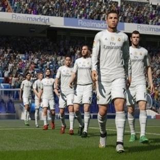 FİFA 16'da Real Madrid'e Özel Ekran Görüntüleri