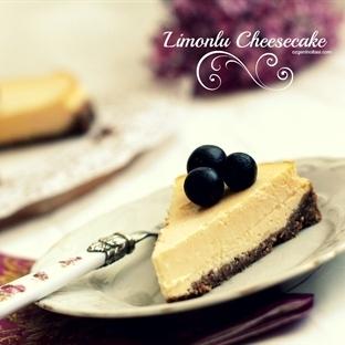 Fırında Limonlu Kolay Cheesecake