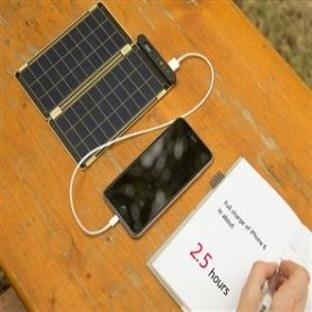 Güneş Enerjisi ile Çalışan Şarj Cihazı:Solar Paper
