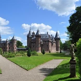 Hollanda'nın en büyük şatosu: De Haar (Kasteel de