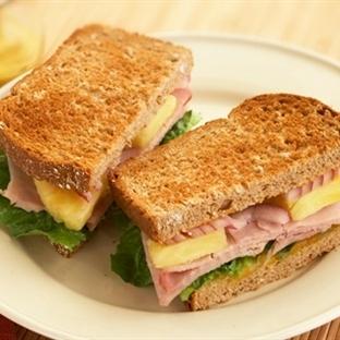 Karışık Jambonlu Sandviç Tarifi
