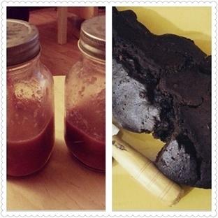 Karpuzlash ve Çikolatalı Hurmalı Kek