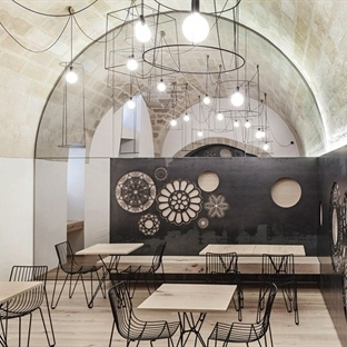 Manca Studio'dan Materia'da Caffè Ridola