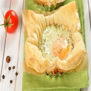 Milföyden Çanak yumurta tarifi