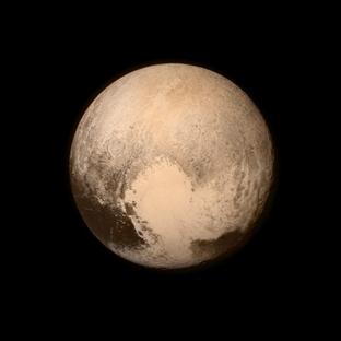 NASA'dan tarihi Pluto fotoğrafı
