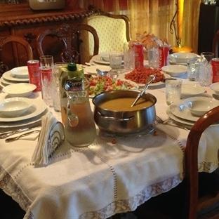 Nişanlım ve Ailesi Bize İftar Yemeğindeler