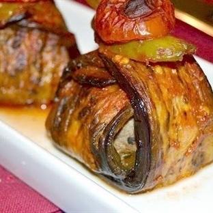 Patlıcanlı Sarma Köfte Tarifi