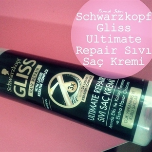 SCHWARZKOPF GLISS ULTIMATE REPAIR SIVI SAÇ KREMI