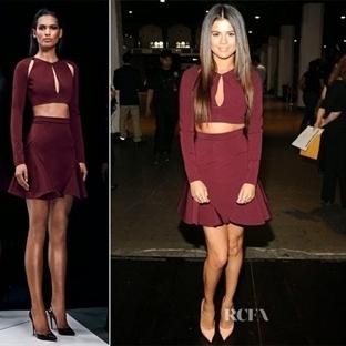 Selena Gomez ve İkili Takım Modası