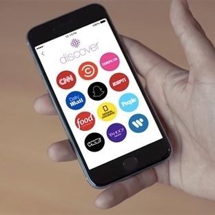 Snapchat, Discover'ı Kullanmanızı İstiyor