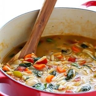 İtalyan Sebze Çorbası Tarifi