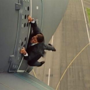 Tom Cruise yeni filminde ölüme meydan okudu