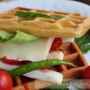 Tuzlu Waffle Nasıl Yapılır