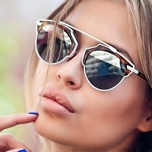 Ünlülerin trend yaratan güneş gözlüğü