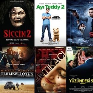Vizyona Giren Filmler : 10 Temmuz