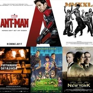 Vizyona Giren Filmler : 17 Temmuz