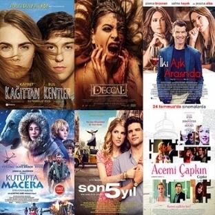 Vizyona Giren Filmler : 24 Temmuz