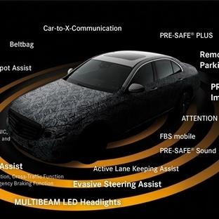 Yeni Mercedes Benz E Serisi, Teknolojinin Zirvesi