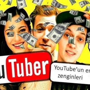 YouTube'un En Zengin Oyuncuları