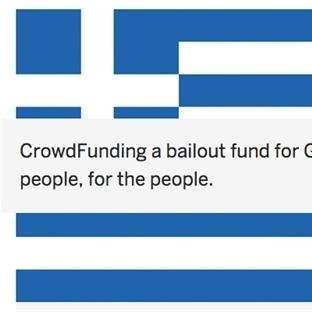 Yunanistan İçin Online Bağış Kampanyası