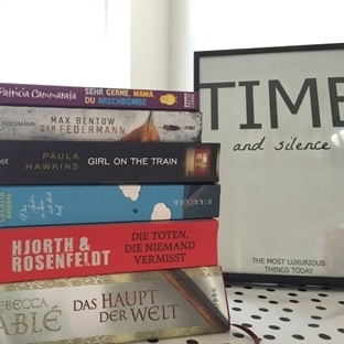 <span>Bücherliebe: my</span><br /><span>reading list</span><br />
