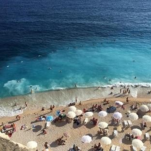 Cennet Koylardan biri Kaputaş Plajı, Kaş Antalya