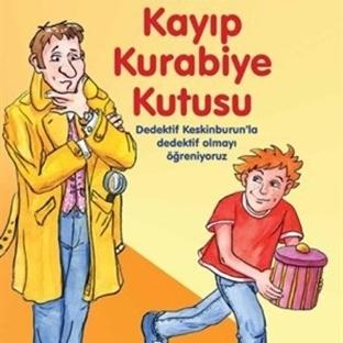 Çocuklara Dedektiflik Kitabı Kayıp Kurabiye Kutusu