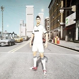 Cristiano Ronaldo GTA 5'te