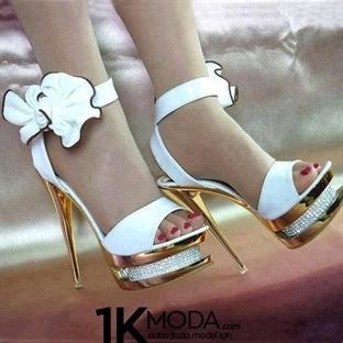 En Şık Gelinlik Ayakkabı Modelleri