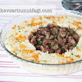 Fırında Tas Kebabı Tarifi