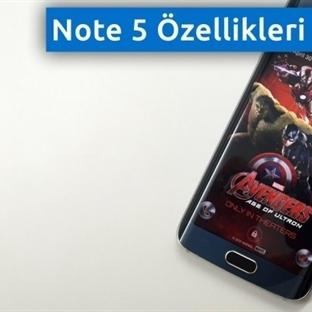 Galaxy Note 5 Özellikleri Nasıl Olacak?