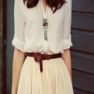 Geniş kalçaya sahip kadınların giyim şekli